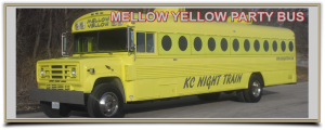 yellow party bus rental kansas city